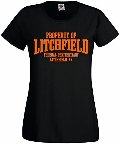 Bullshirt donna proprietà di Litchfield maglietta Black Small