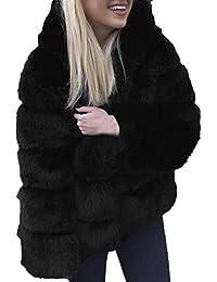 Amazon.it  pelliccia ecologica donna  Abbigliamento ef3c5fa045d