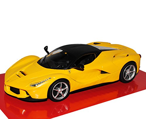Ferrari LaFerrari Coupe Gelb Schwarz Ab 2013 1/24 Mattel Hot WHeels Modell Auto