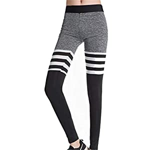 HHXWU Hosen Damenhosen Hohe Stretch Yogahosen Sweatpants