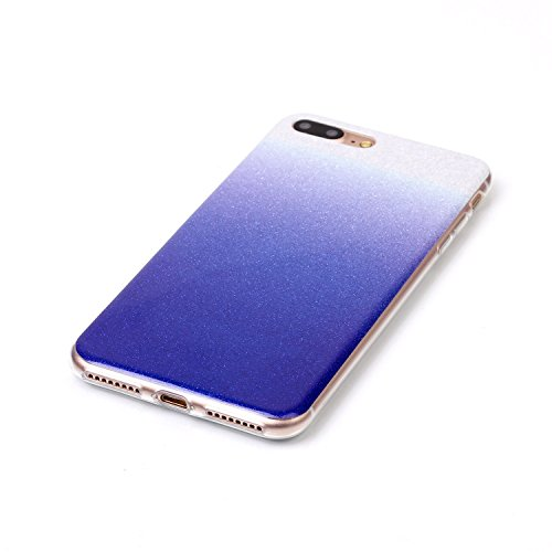 iPhone Case Cover Gradient Pattern Couleur Silicone souple TPU Housse de protection arrière pour IPhone 7 Plus ( Color : I , Size : IPhone 7 Plus ) N