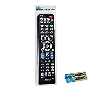 HQRP Telecomando universale per Samsung LED TV H5000 H5500 Serie 5; UE40H5000AK, UE22H5000AK, UE32H5500AY, UE40H5500AY Full HD TV