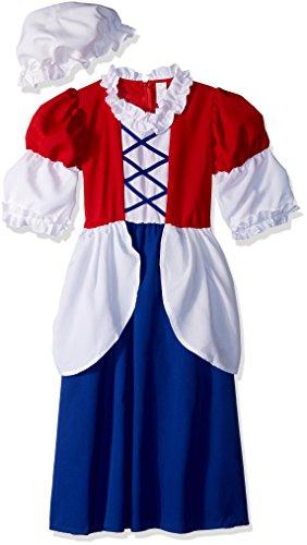 Kinder Kostüm Betsy Ross - RG Costumes Betsy Ross Costume, Child Medium/Size 8-10