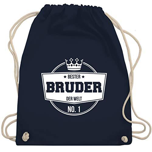 ter Bruder der Welt - Unisize - Navy Blau - WM110 - Turnbeutel & Gym Bag ()