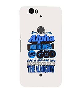 PrintVisa Designer Back Case Cover for Huawei Nexus 6P :: Huawei Google Nexus 6P (Quote Love Heart Messages Crazy Express Sorry )