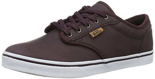 Vans Atwood Low Dx, Sneakers Basses Femme Marron (Leather)