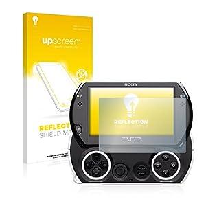 upscreen Entspiegelungs-Schutzfolie kompatibel mit Sony PSP Go – Anti-Reflex, Matt