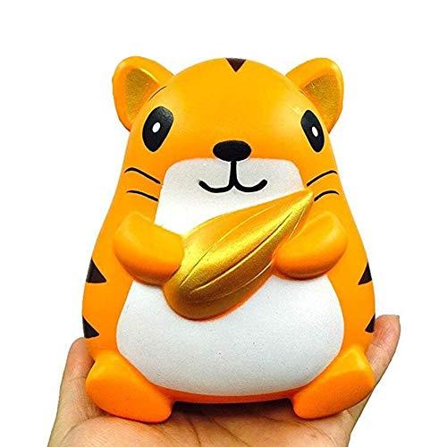 Dekompressions Spielzeug, Halten Mais PU Hamster Slow Rebound Spielzeug, Dekompression Dekompression Puppe entlüften