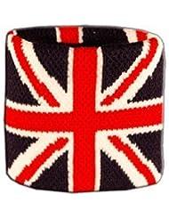 Digni® Poignet éponge avec drapeau Royaume-Uni - Pack de 2 pièces