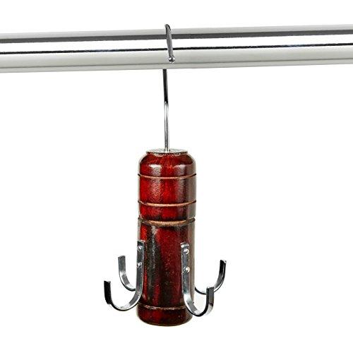 Four-Hook Spinning Belt Hanger by Florida Brands (Belt Florida)