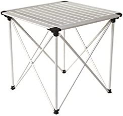 Kingcamp Aluminium Folding table, One Size (Silver)