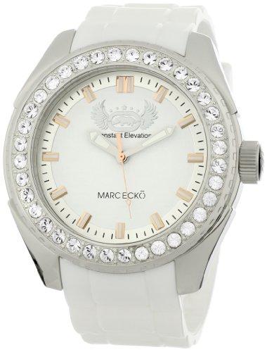 Marc Ecko Reloj Análogo clásico para Hombre de Cuarzo con Correa en Silicona E12586G1