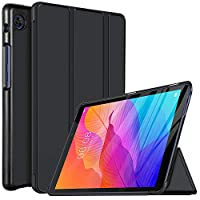 IVSO Cover Case for HUAWEI MatePad T8, Slim PU Cover Case for HUAWEI MatePad T8 Tablet. Black