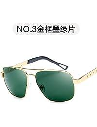 e327665cd5 Burenqiq Gafas de Sol polarizadas Gafas de Sol Retro de Moda Espejo de  conducción de Moda