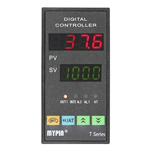 Censhaorme MyPin TA6-SNR Temperaturregler Dual 4 LED PID Heizen Kühlen Steuerung TC/RTD-Eingang SSR Ausgang 1 Relais Alarm Thermostat