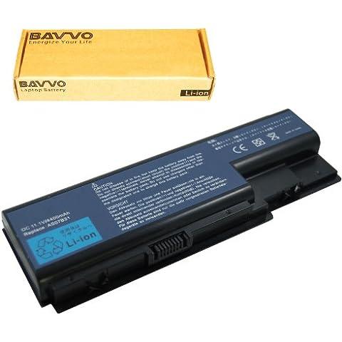 Bavvo Batería de Ordenador 6-células compatible con Acer AS07B31 AS07B41 AS07B42 AS07B72 CONIS72 series,