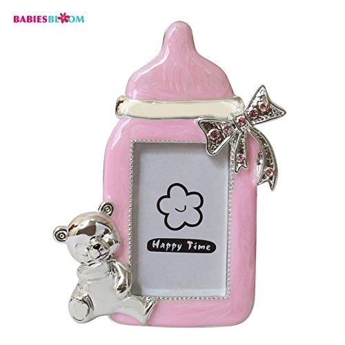 Babies Bloom Resin Pink Babyram Photo Frame Favor