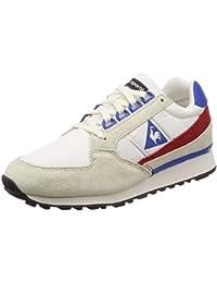Le Coq Sportif Chaussures ECLAT Nylon Beige/Bleu/Rouge Taille: 40