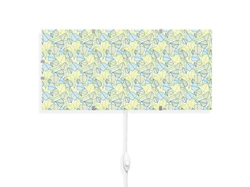 yourdea - Kinderzimmer Wandlampen Wechsel Bild für IKEA GYLLEN 56cm mit Motiv: Blätter Muster