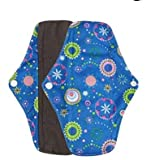 SROVFIDY Wiederverwendbare Bambus-Pads für Mama, für Menstruationspads, Tuch für Sanitärservietten, F, Large