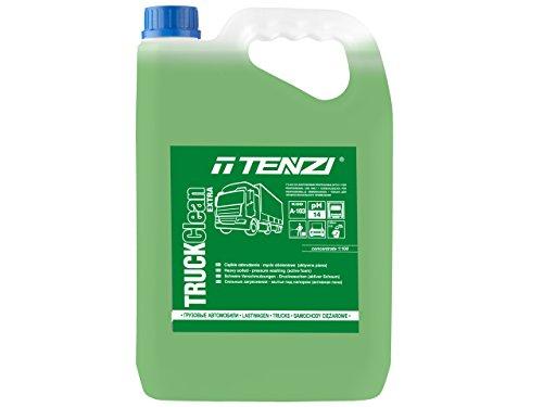 1 Stück TENZI TRUCK CLEAN EXTRA 5L Planenreiniger / Alkalisch / Rückstand / Reiniger / Schaum / Auto / Motorwäsche / LKW / Motorwäsche / Konzentrat / Hochdruckwäsche / Reinigung / Waschen / Putzen / Lieferwagen / Made in Poland / Extrem verschmutzung / AktivschaumTägliches Waschen / PH 14 / Qualität / Lack / Reifen / Außenwäsche / Hauptwäsche / Vorwäsche / Flasche / Hochdruckreniger / Schaum / Lieferwagen / Nutzfahrzeug (Schnee-entferner Für Auto)