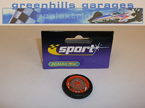 Greenhills Scalextric Accessory Pack Moto GP Front Wheel & Tyre Cat No...