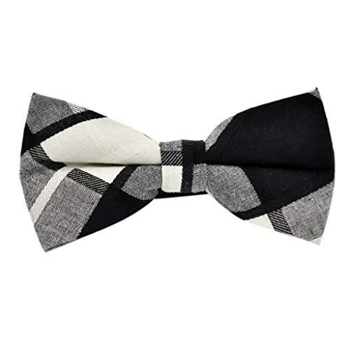Goldatila Men's Ties, Cummerbunds & Pocket Squares Mens Science and Self-Tie Silk Bow Tie -