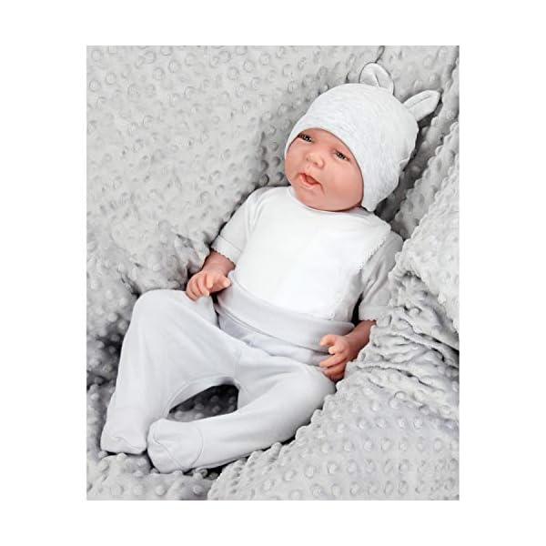 TupTam Gorro de Bebé con Orejas, Paquete de 2 2