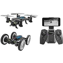 Cewaal Fliegende Auto RC Quadcopter Drohne, fliegende Fahrzeuge Headless Modus einzigartiges Design Spielzeug für Kinder