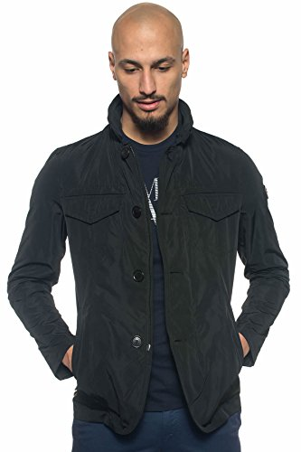 Peuterey–Field Jacket de Hombre Negro XS