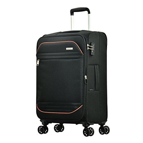 Eminent Barcelona, Unisex-Erwachsene Koffer Schwarz Schwarz m