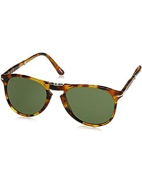 Persol 0Po9714S 10524E, Gafas de Sol Unisex-Adulto, Marrón (Madreperla/Green), 55