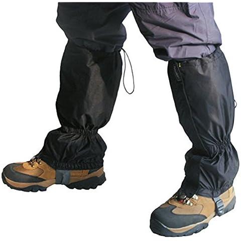 TRIXES 1 par de polainas resistentes al agua para la nieve o para escalada, excursionismo o senderismo