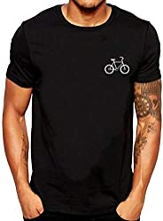 Men's T-Shirts Plain Graphic Short Sleeve O-Neck Cozy Pullover Tops Tees Multi Colors(S-3XL) by PER