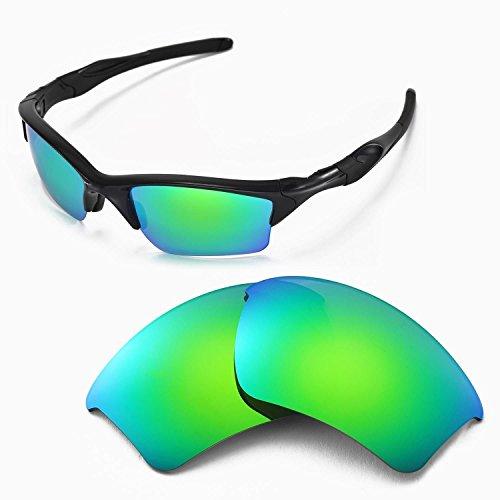 sunglasses restorer Ersatzgläser für Oakley Half Jacket 2.0 | Polarized/Photochromic (Sapphire Green | Polarized)