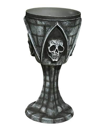 Horror-Shop Totenschädel Kelch