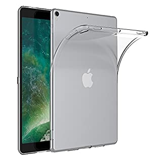 AICEK iPad Pro 10.5 Hülle, Transparent Silikon Schutzhülle für iPad Pro 10.5 2017 Case Crystal Clear Durchsichtige TPU Bumper iPad Pro (10,5 Zoll) hülle