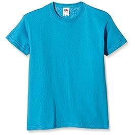 Fruit of the Loom Original T. T-Shirt Unisex-Bambini