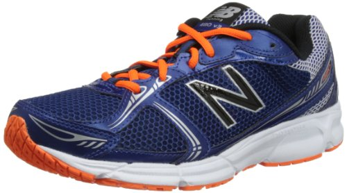 New Balance M480ba3, Chaussures de course homme Bleu - Blue/Orange