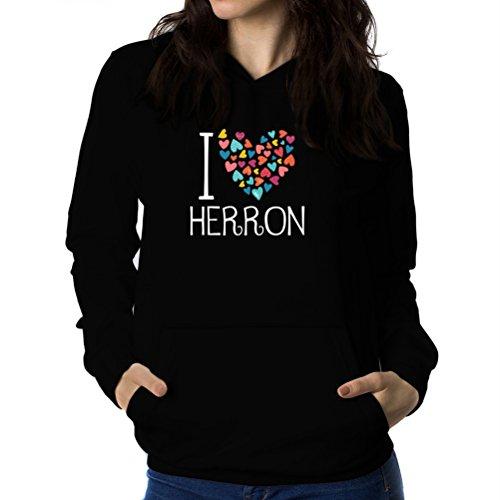 i-love-herron-colorful-hearts-sweat-capuche-femme