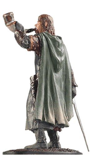 Lord of the Rings Señor de los Anillos Figurine Collection Nº 7 Boromir 1