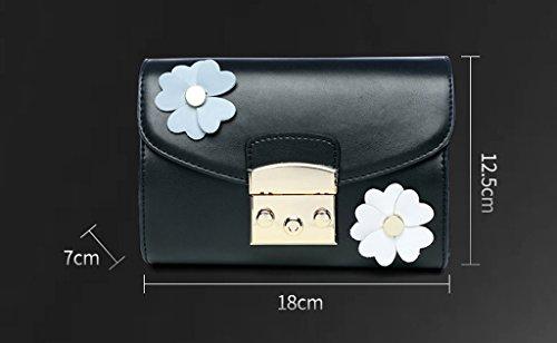 Home Monopoly Sacchetto di spalla largo della cinghia della spalla Sacchetto del messaggero del sacchetto del messaggero di modo Piccolo pacchetto quadrato Pacchetto della catena dei fiori La cinghia  Khaki