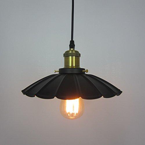 BBSLT Country americano Lampadario in ferro battuto illuminazione a sospensione lampada lampadario creativo ombrelloni colorati bar diametro 240MM, 360MM, 420MM