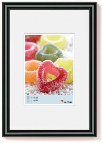 Preisvergleich Produktbild Walther KP015B Trendstyle Kunststoffrahmen 10 x 15 schwarz