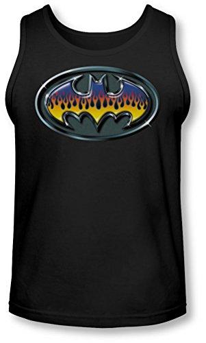 Batman - - Männer Hot Rod Schild Tank-Top Black
