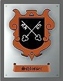 Zunftschild Schlosser (36 x 28 cm)