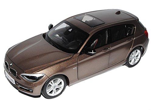 Preisvergleich Produktbild BMW 1er F20 Sparkling Braun 5 Türer Ab 2010 1/18 Jadi Modell Auto