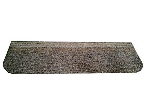 montecolino Stufenmatte für Innen und Außen–copriscalino Uni Braun Rechteckig