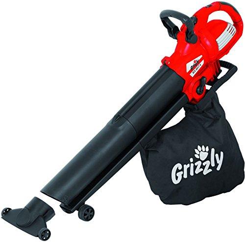 Grizzly Elektro Laubsauger / bläser ELS 3017 E Sauger Laubbläser mit leistungsstarkem 300 Watt Motor