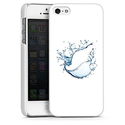 Apple iPhone 4 Housse Étui Silicone Coque Protection Eau Water Tache CasDur blanc
